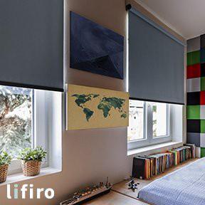 ロールスクリーン  LIFIRO リフィロ 遮光1級・遮熱タイプ